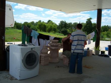 Warm weather washer