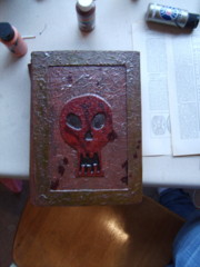 Altered book for Halloween